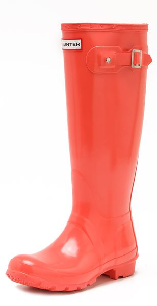 Hunter Hunter Gloss Rain Boots - Lyst