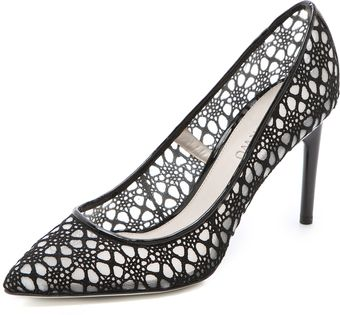 Jason Wu Sigrid Lace Mesh Pumps - Lyst