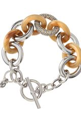 Michael by Michael Kors Mixed Link Chain Bracelet - Lyst