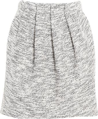 See By Chloé Two Tone Cotton Sweatshirt Skirt - Lyst