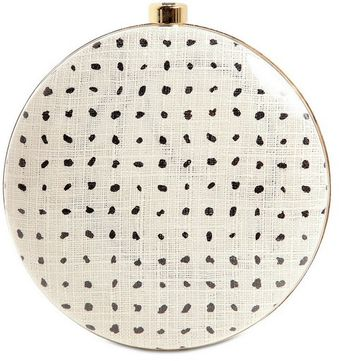Stella McCartney Plexi Glass Printed Canvas Round Clutch - Lyst