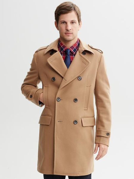 Mens Camel Peacoat Images Frompo 1