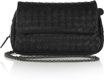 Bottega Veneta Leather Shoulder Bag - Lyst