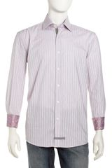 English Laundry Striped Dress Shirt - Lyst