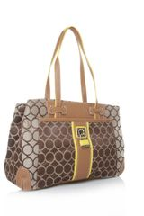 Nine West On Cloud 9 Satchel in Brown - Lyst