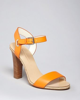 Ralph Lauren Collection Sandals Laurissa Mid Heel - Lyst