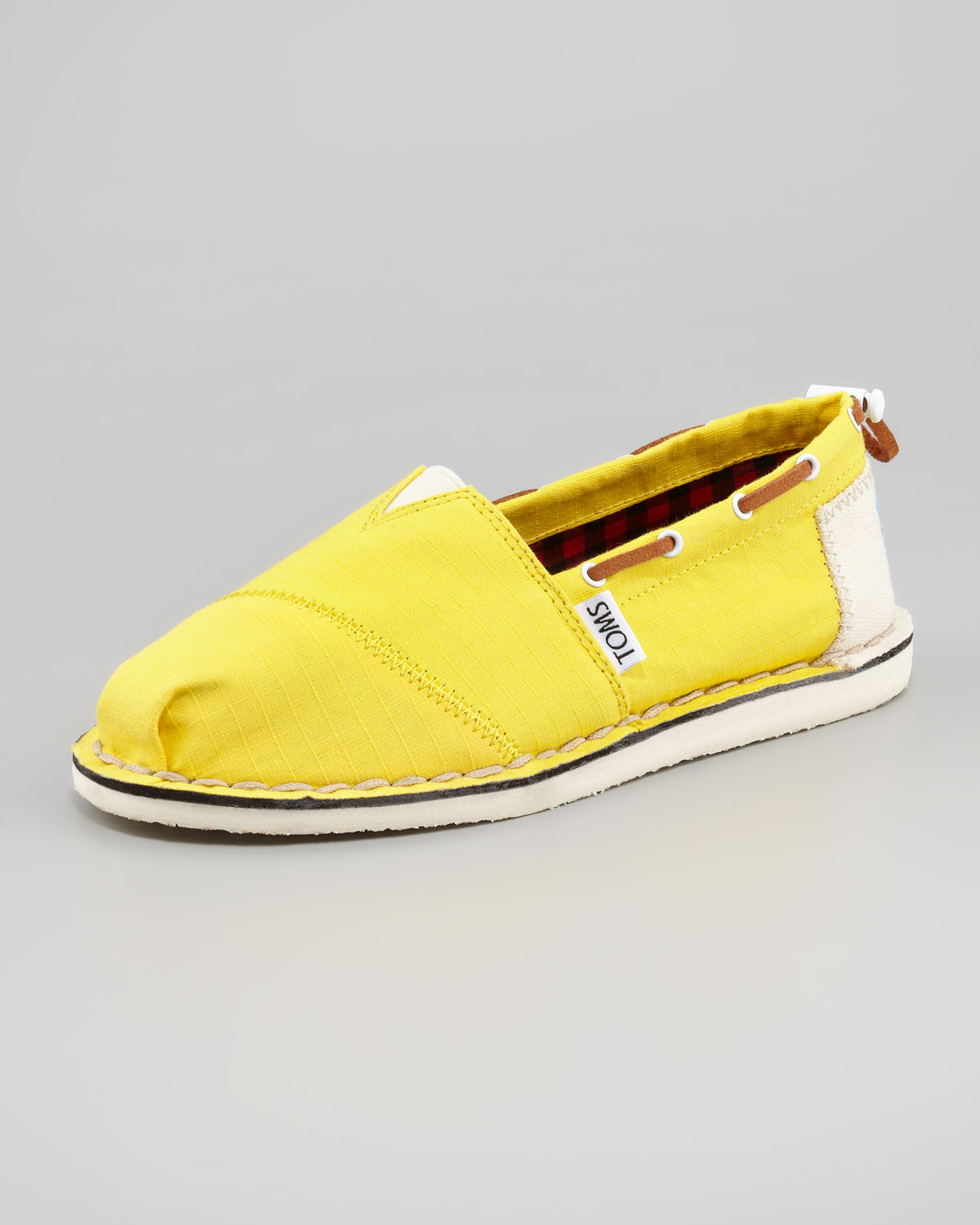 Toms Boat Shoe in Yellow | Lyst