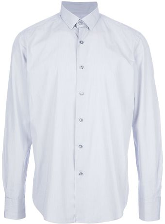 Lanvin Button Down Dress Shirt - Lyst