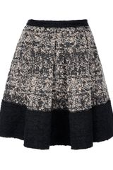 Proenza Schouler Pleated Bouclé Skirt - Lyst