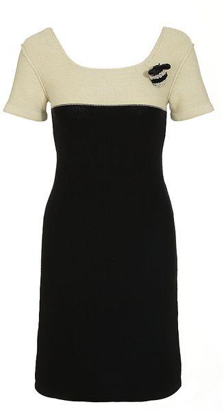 Sonia By Sonia Rykiel Knitted Dress - Lyst