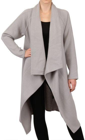 Donna Karan New York Boiled Cashmere Coat - Lyst