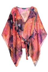 Matthew Williamson Escape Acid Flowerprint Kaftan - Lyst