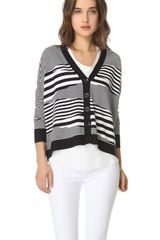 Milly Mirage Cardigan - Lyst