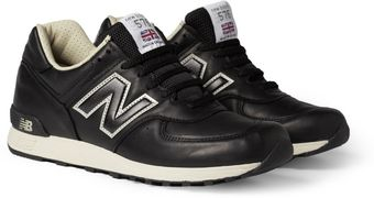 New Balance 576 Leather Sneakers - Lyst