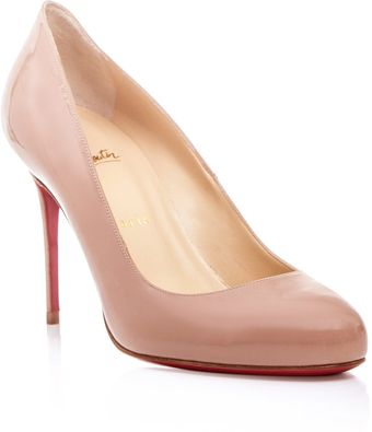Christian Louboutin Patent Leather Shoes - Lyst