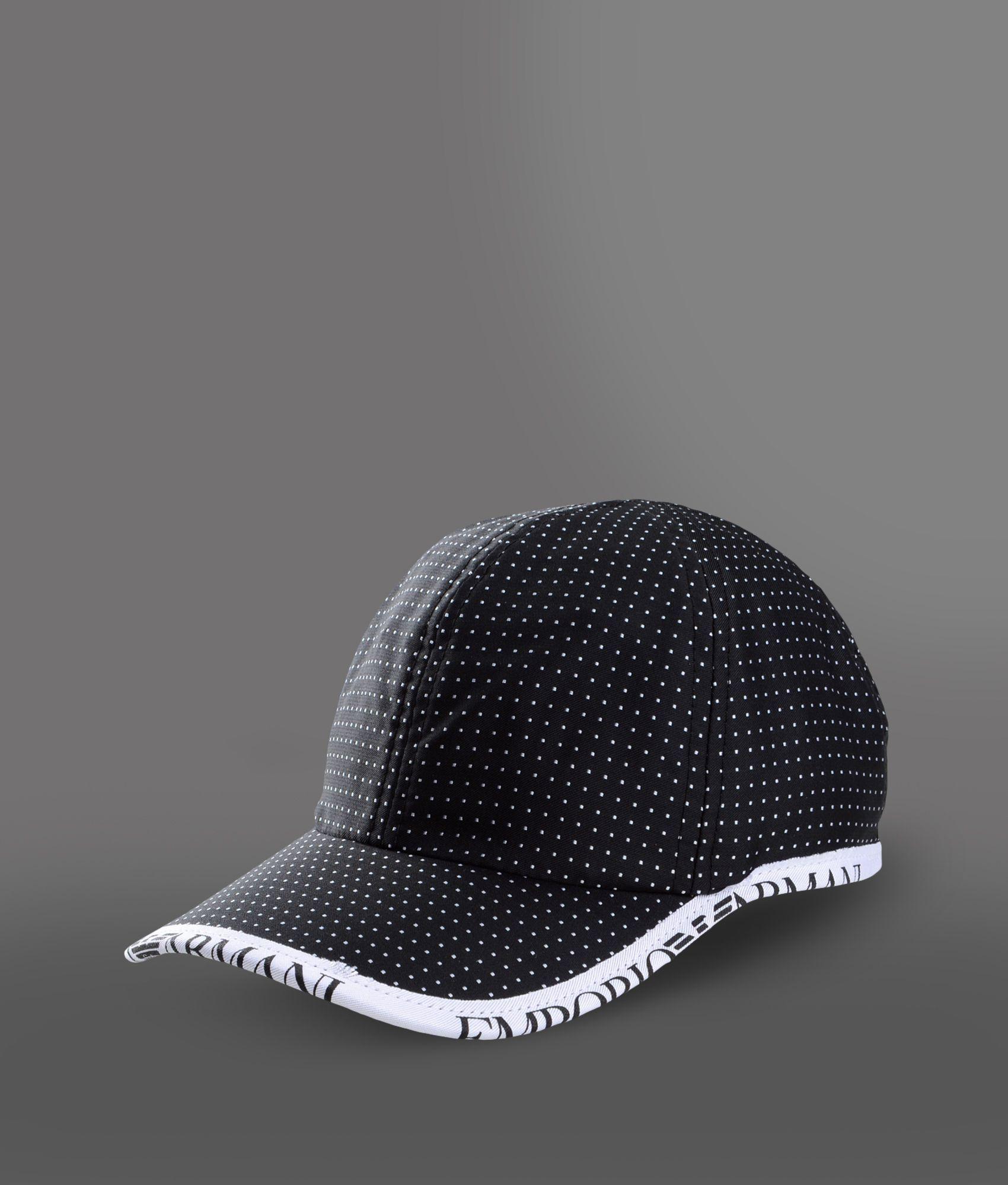 Emporio Armani Cap In Black Lyst