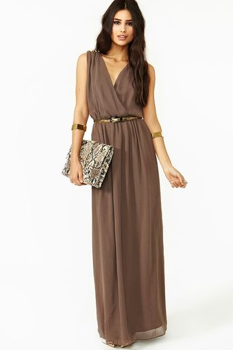 Nasty Gal Empress Spike Maxi Dress - Lyst