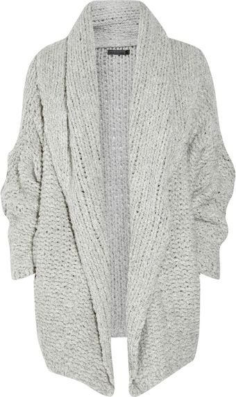 Donna Karan New York Over-Sized Cashmere Cardigan - Lyst