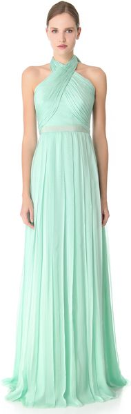 Giambattista Valli Cross Front Gown - Lyst