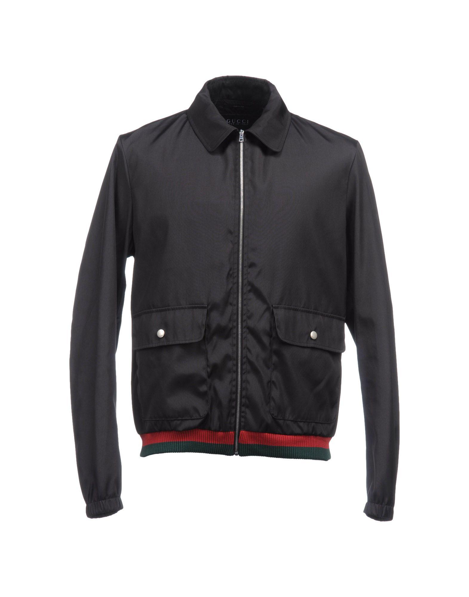 Gucci jacket in blue for men lyst Designer clothing for men online sales
