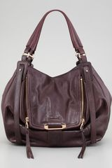 Kooba Jonnie Hobo Dark Prune - Lyst
