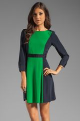 Marc By Marc Jacobs Long Sleeve Dress - Lyst