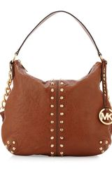 Michael Kors Uptown Astor Large Satchel Bag - Lyst