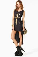 Nasty Gal Golden Rule Dress