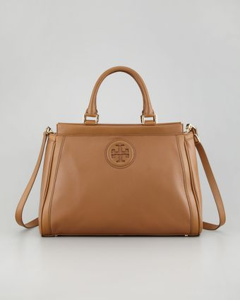 Tory Burch Hannah Satchel Bag Sand - Lyst