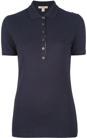 Burberry Slim Fit Polo Shirt - Lyst