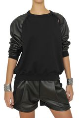 Damir Doma Cotton Fleece Sweatshirt - Lyst