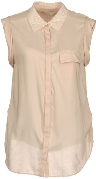 Eryn Brinie Sleeveless Shirt - Lyst