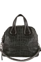 Givenchy Medium Nightingale Croco Leather Bag - Lyst