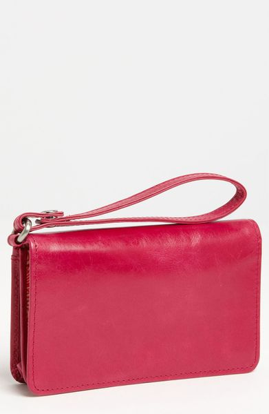 Hobo Ally Phone Wristlet in  (magenta)