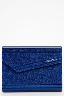 Jimmy Choo Glitter Clutch - Lyst