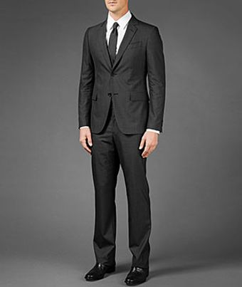 John Varvatos Austin Two Button Notch Lapel Fit Suit - Lyst