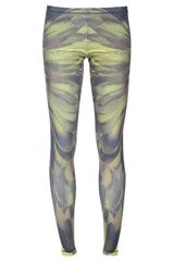 McQ by Alexander McQueen Wing Printed Leggings - Lyst