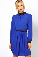 ASOS Collection Skater Dress with Collar