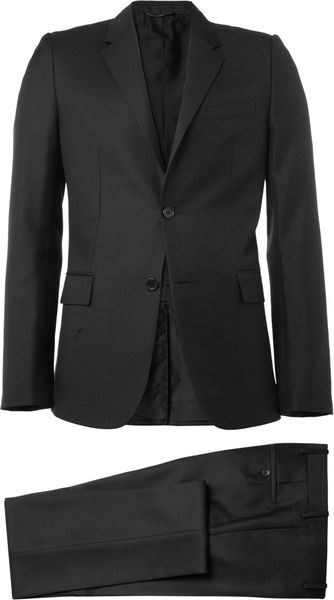 Balenciaga Slimfit Wool and Mohairblend Suit - Lyst