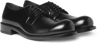 Jil Sander Leather Derby Shoes - Lyst