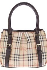 Burberry Northfield Tote - Lyst