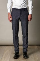 Gucci Slub Denimblue Trousers in Blue for Men (denim) - Lyst