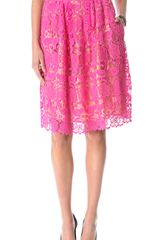 By Malene Birger Neveeh Lace Skirt - Lyst