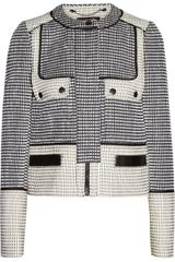 Proenza Schouler Basketweave Tweed Jacket - Lyst