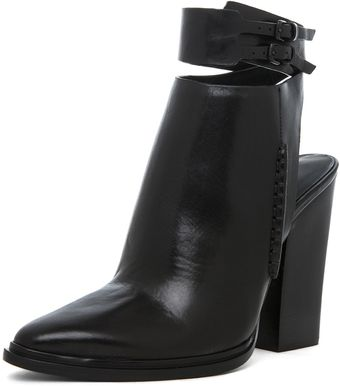 Alexander Wang Dasha Bootie in Black - Lyst