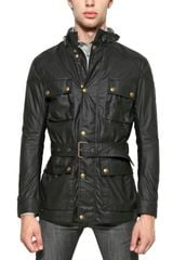 Belstaff Waxed Cotton Iconic Casual Jacket - Lyst