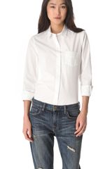 Boy by Band Of Outsiders Poplin Easy Shirt