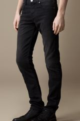 Burberry Shoreditch Black Wash Skinny Fit Jeans - Lyst