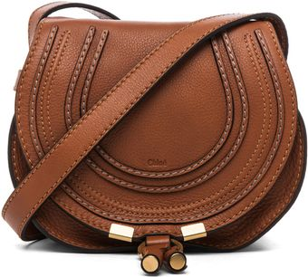 Chloé Marcie Satchel in Tan - Lyst