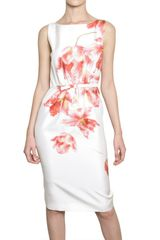 Giambattista Valli Orchid Silk Shantung Dress - Lyst